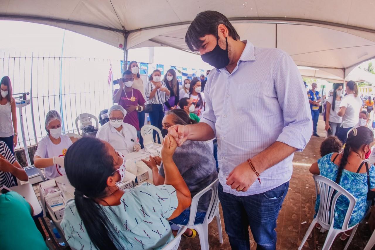 """b84201c7 6753 4cde a98d 71350cc67615 - Leo Bezerra destaca importância da Caravana do Cuidar: """"como é gratificante fazer o bem"""""""