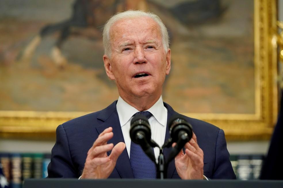 """biden - """"Caçaremos vocês e faremos pagar"""", diz Biden ao Estado Islâmico"""