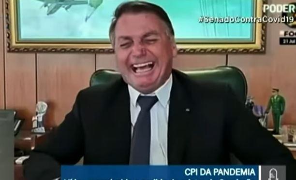 boso 1 - Bolsonaro diz que ivermectina 'mata bichas' em vídeo exibido na CPI - VEJA VÍDEO