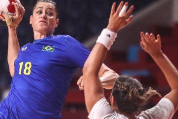 Brasil é derrotado pela França e dá adeus no handebol feminino