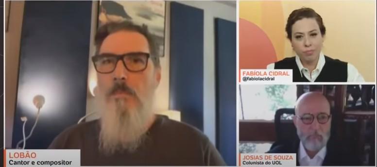 """cant - """"Furúnculo chamado Bolsonaro tem que ser expelido do governo, punido e preso"""", diz cantor Lobão - VEJA VÍDEO"""