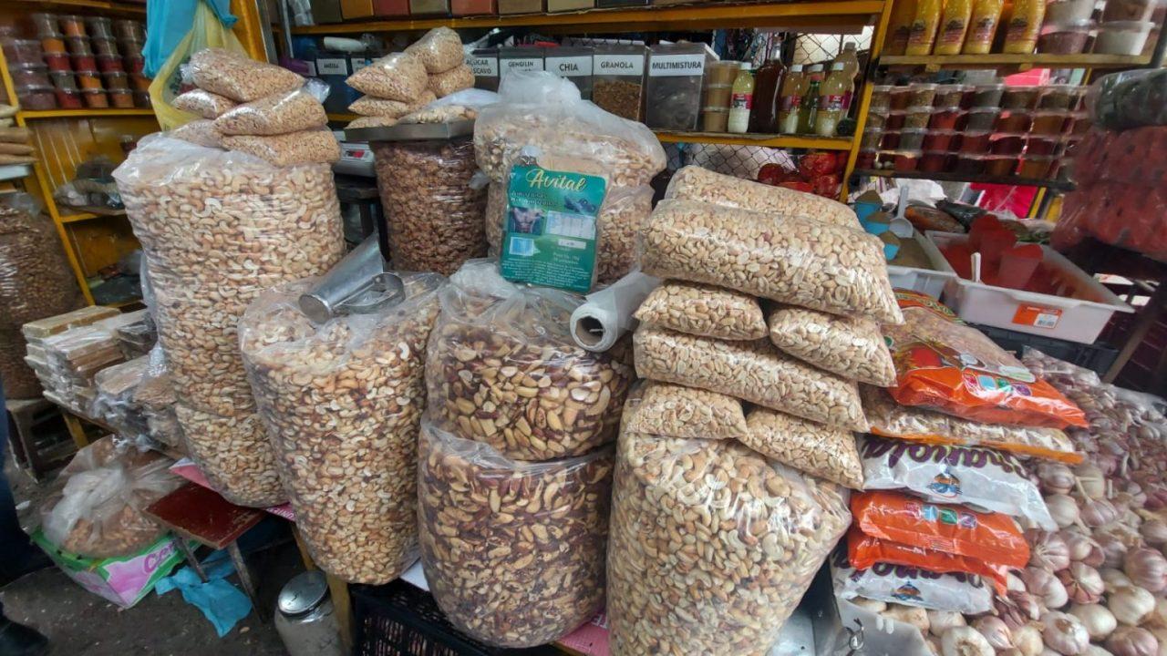 castanha 1536x864 1 scaled - Preço das castanhas varia 25% na principal feira de Campina Grande