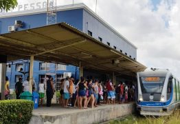 Viagens de trem entre João Pessoa e Santa Rita são suspensas neste sábado (7)