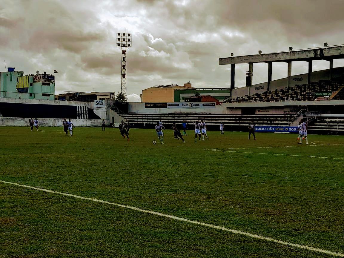central sousa - Central-PE e Sousa fazem jogo fraco e não saem do zero em partida pela Série D