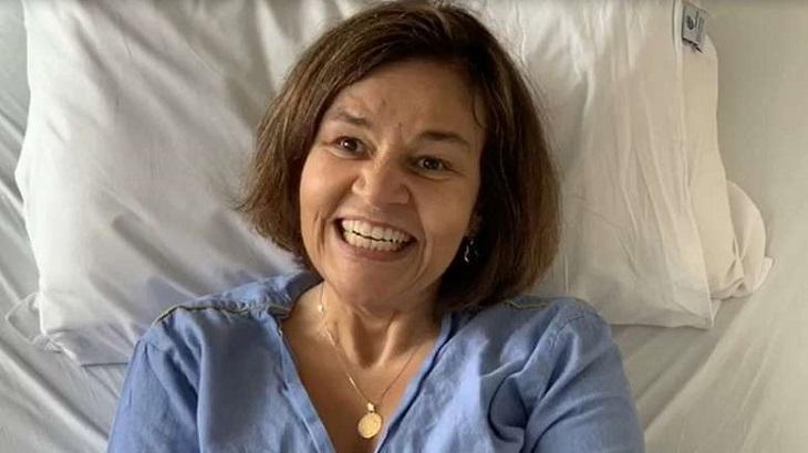 claudia rodrigues retorno tv 718028255780a79b82352e40432882018515f466 - Claudia Rodrigues é novamente internada em hospital de SP para realizar tratamento