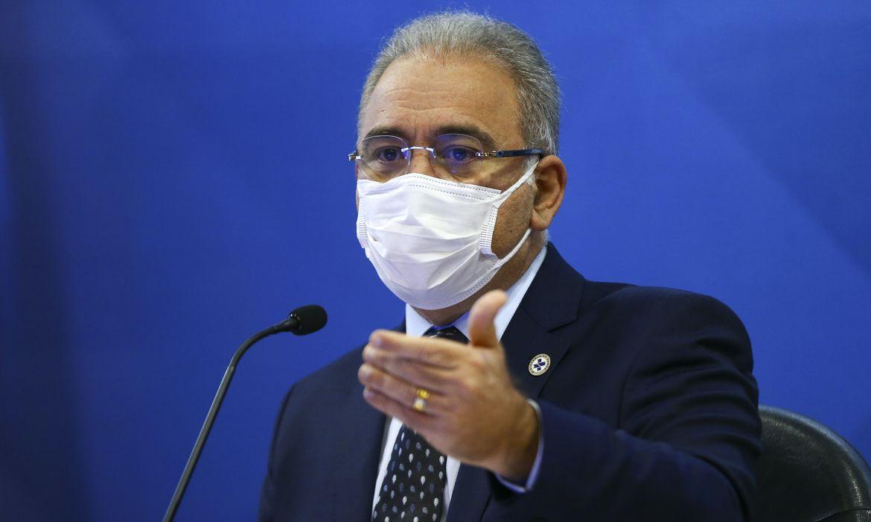 coletiva marcelo queiroga mcamgo abr 180820211818 13 - Com sintoma leve, Marcelo Queiroga passa bem e tem temperatura controlada, diz Ministério da Saúde