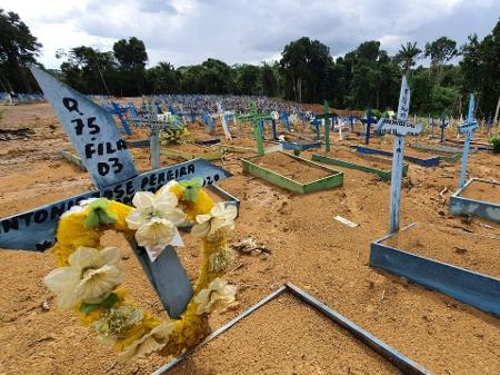 covid - CORONAVÍRUS: Brasil registra média de mortes abaixo de 700, menor número em 2021
