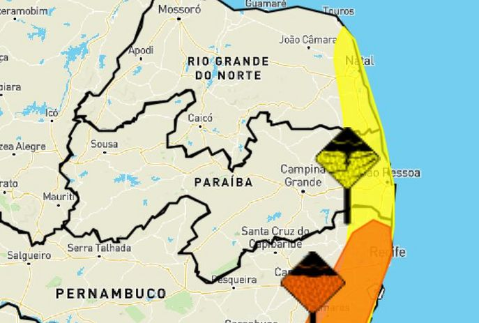 csm WhatsApp Image 2021 08 09 at 17.20.58 16c6baf776 - João Pessoa e mais 32 cidades da Paraíba estão sob risco de chuvas intensas