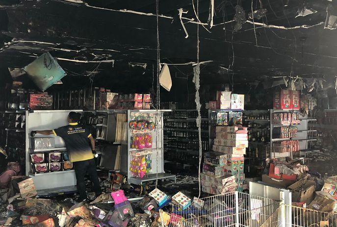 csm WhatsApp Image 2021 08 27 at 09.58.52 25b200c30d - Loja é destruída por incêndio no Centro de João Pessoa; ninguém ficou ferido - VEJA VÍDEO