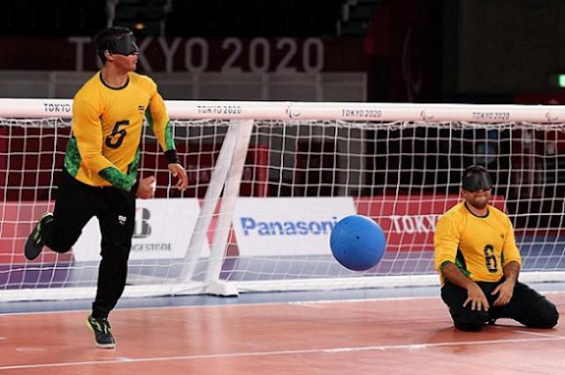 dba1e38552c461a28a2c6417f805ae97 - PARALIMPÍADAS: com paraibanos na equipe, seleção brasileira de goalball é derrotada pelos EUA