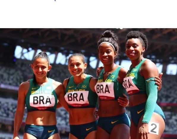 disputa - Revezamentos 4x100m rasos do Brasil são eliminados em Tóquio