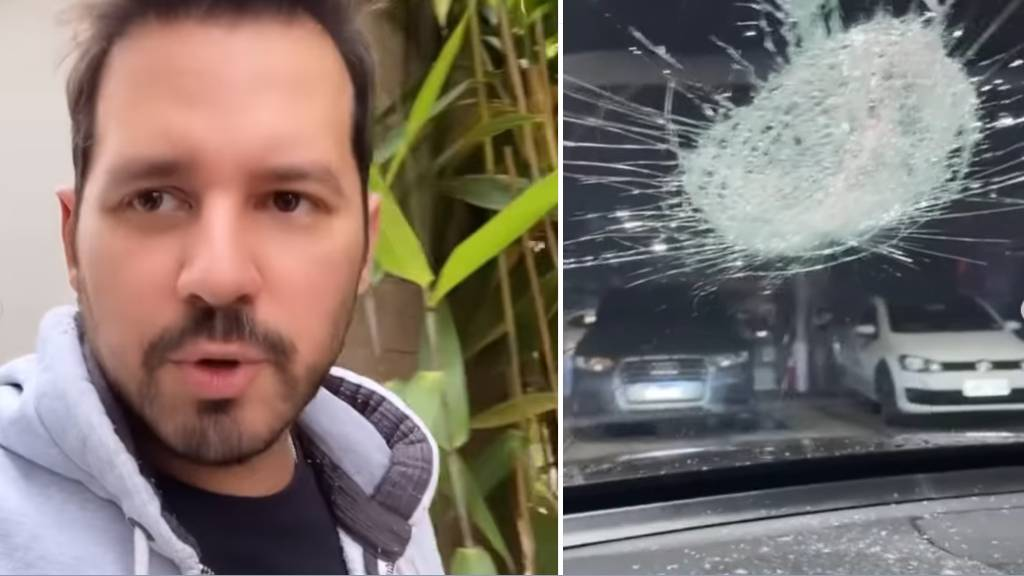 "dony de nuccio - Dony De Nuccio sofre tentativa de assaltono Rodoanel: ""Poderia ter sido trágico"""
