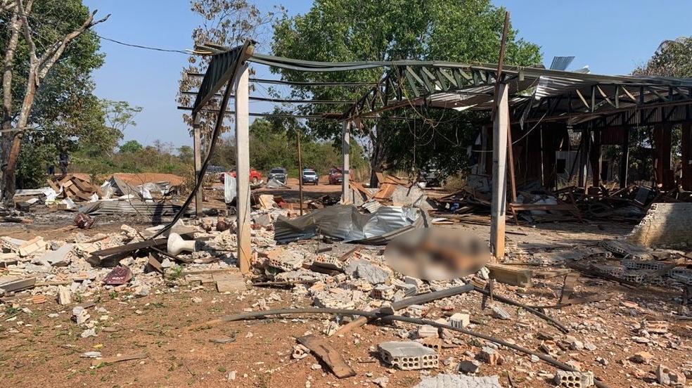explosao em garimpo - TRAGÉDIA: Filha de empresários morre durante explosão de dinamites em garimpo - VEJA IMAGENS
