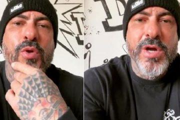 fogaca 360x240 - Fogaça grava vídeo e tranquiliza seguidores após acidente: 'Estou bem'; confira