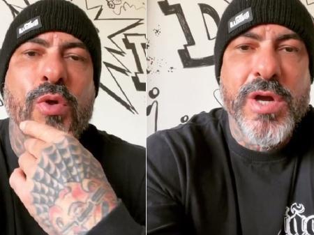 fogaca - Fogaça grava vídeo e tranquiliza seguidores após acidente: 'Estou bem'; confira