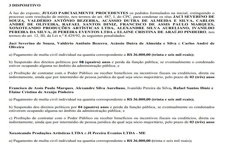 galego souza 1 - IMPROBIDADE ADMINISTRATIVA EM SÃO BENTO: Justiça condena deputado Galego Souza, empresas e mais nove pessoas