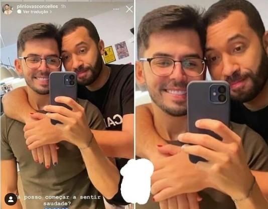 """gil do vigor e plinio - Gil do Vigor nega namoro com dentista: """"Ainda não"""" - VEJA VÍDEO"""