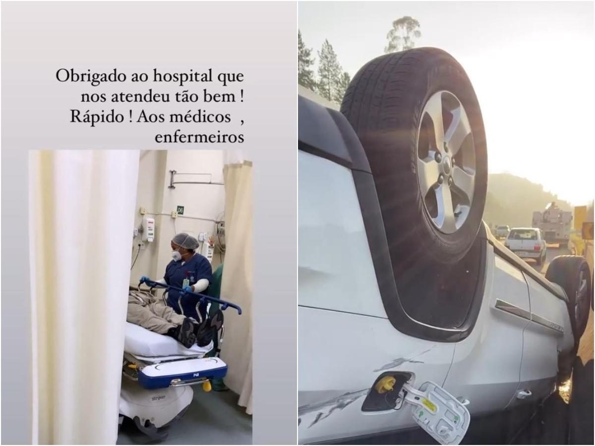 giovanni acidente 1 - Giovani fala sobre acidente de carro: 'Poderia ter sido muito mais grave'