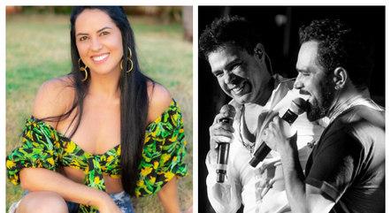 graciele lacerda 14082021124303763 - Graciele comenta rumores de briga entre Zezé Di Camargo e Luciano