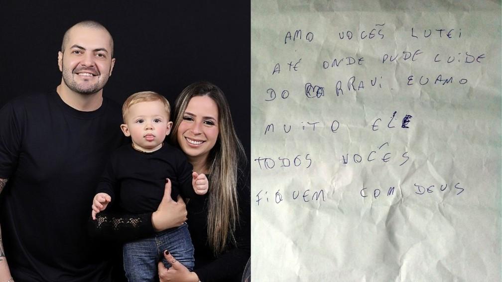 homem que descobriu cancer durante gestacao da mulher e fez campanha para tratamento deixa carta para familia antes de morrer de covid - Homem que fez campanha para tratamento de câncer deixa carta para família antes de morrer de Covid: 'Lutei até onde pude'