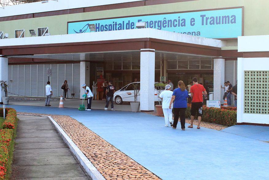 hospital de trauma jp3 foto walla santos - Mulher fica ferida após ser esfaqueada pelo marido em João Pessoa