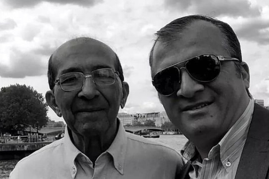 humberto e trocolli - EMOCIONANTE: no primeiro Dia dos Pais sem o seu pai, deputado Trocolli Júnior homenageia Humberto Trócolli- VEJA VÍDEO