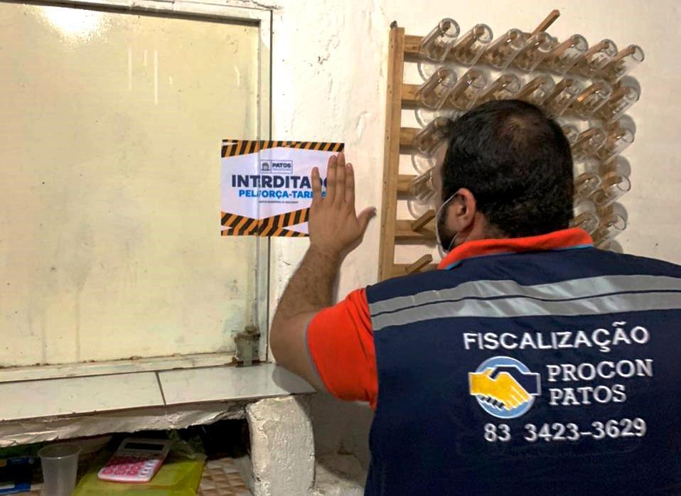 interdicao 2 - Força-tarefa interdita dois estabelecimentos por descumprimento de medidas sanitárias previstas em decreto