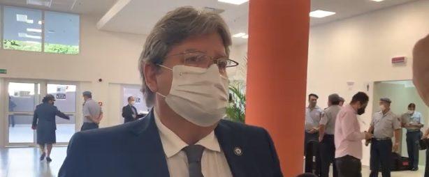 joao azevedo 1 e1629896174505 - João Azevêdo se reúne com Lula e demais governadores do Nordeste para tratar sobre eleições de 2022