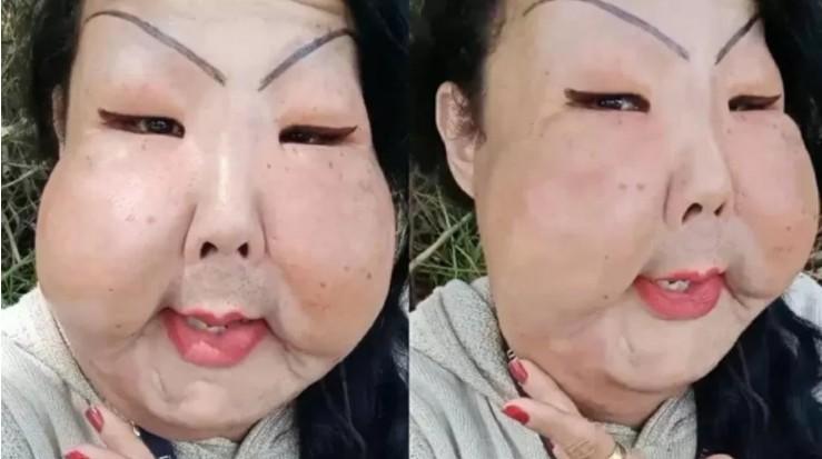 """juju oliveira - Trans é criticada após pedir ajuda para retirar silicone do rosto: """"Momento difícil"""""""