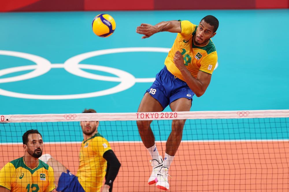lucarelli - Brasil é derrotado pela Argentina de virada e fica sem medalha no vôlei masculino