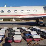 mala 2 150x150 - Polícia Federal apreende 1,3 toneladas de cocaína em jato particular no Ceará