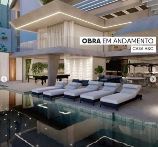 mansao - CASA H&C: Hulk Paraíba está construindo mansão luxuosa para morar com Camila Ângelo em João Pessoa; veja detalhes