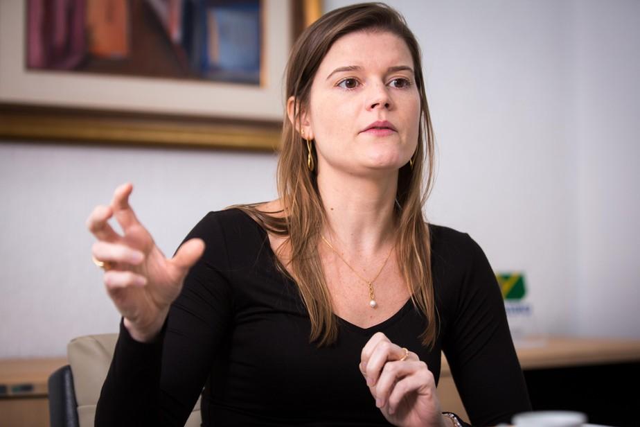 martha 20seillier 2 - Secretária de privatização diz que 'Correios vão a leilão por um valorzinho'