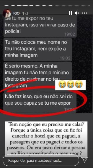 """max bezerra - RELACIONAMENTO ABUSIVO: Influenciador de Patos é traído por namorado durante viagem para o RJ e revela: """"Beijou outro na minha frente"""" - VEJA VÍDEO"""