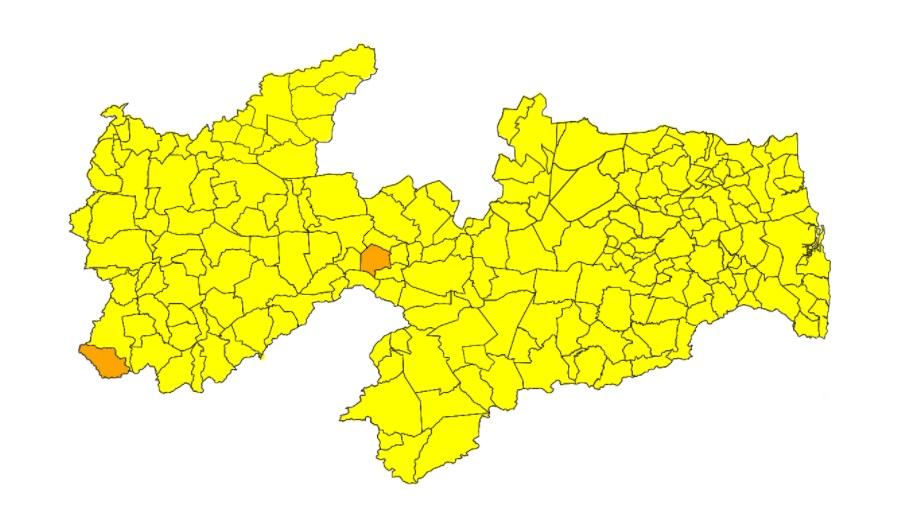 novo normal - ESTABILIDADE: Avaliação do Plano Novo Normal traz duas cidades em bandeira laranja e demais em amarela - VEJA RELAÇÃO