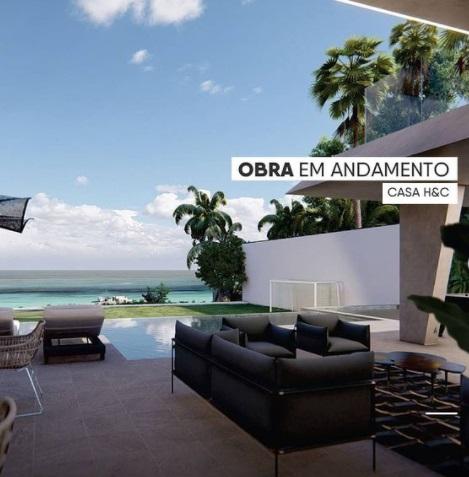 obra mansao - CASA H&C: Hulk Paraíba está construindo mansão luxuosa para morar com Camila Ângelo em João Pessoa; veja detalhes