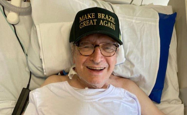 olavo 1 2 768x473 1 - Olavo de Carvalho posta foto no leito do hospital para provar que está vivo