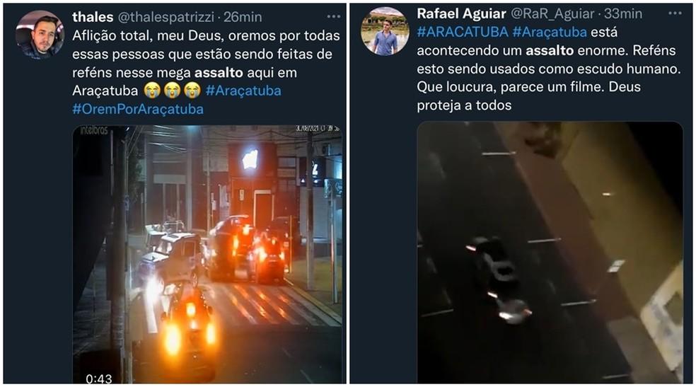 page - TIROTEIO E FUGA: Quadrilha ataca agências bancárias e faz moradores reféns; três pessoas morreram - VEJA VÍDEO
