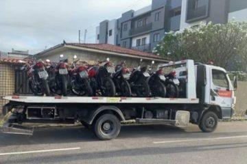 pm 1 360x240 - OPERAÇÃO MOTO SEGURA: Polícia Militar apreende motos com cano de escape barulhentos, em João Pessoa
