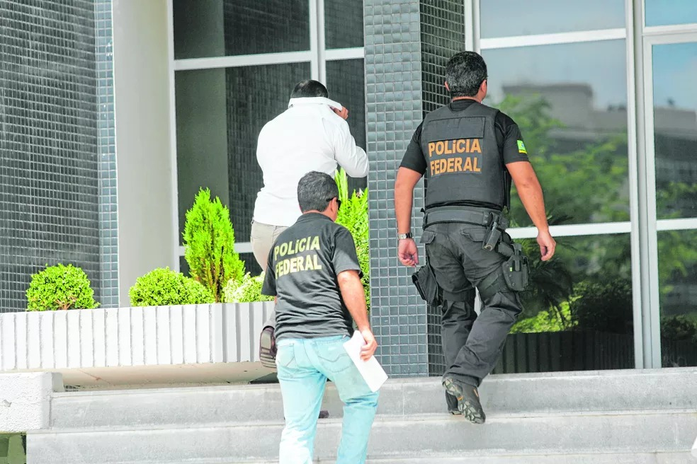 preso - PF prende na Paraíba foragido da Justiça condenado a mais de 230 anos de prisão