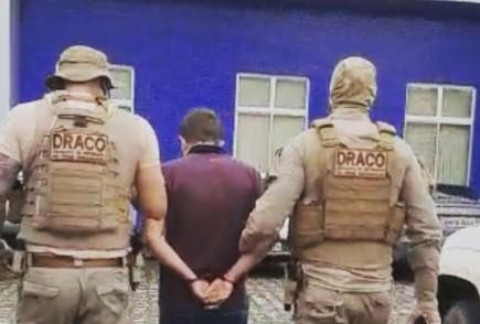 prisao pf medusa - OPERAÇÃO MEDUSA: PF cumpre mandado de prisão por tráfico internacional de drogas na Paraíba