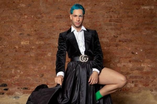 """rainer cadete - Ator Rainer Cadete assume sexualidade fluida: """"Elas fluem, me sinto assim"""""""