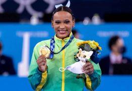 Rebeca Andrade é escolhida porta-bandeira do Brasil na cerimônia de encerramento das Olimpíadas