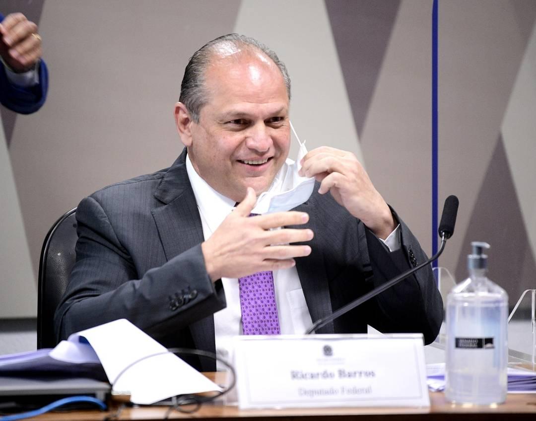 ricardo barros na cpi - Ricardo Barros diz que CPI da Covid 'é um circo que tenta desgastar o governo', durante entrevista