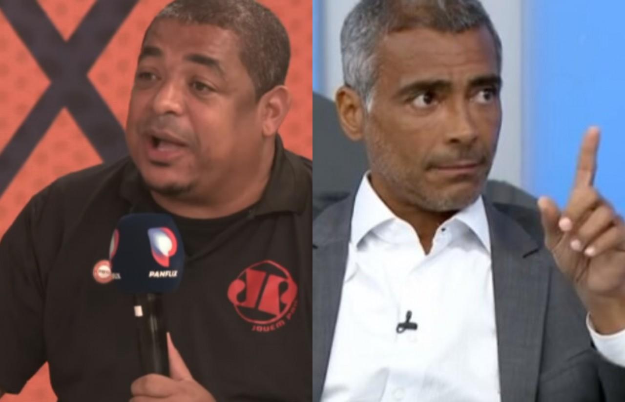 romario - Vampeta diz que Romário ficou fora da Copa 2002 por sexo com aeromoça