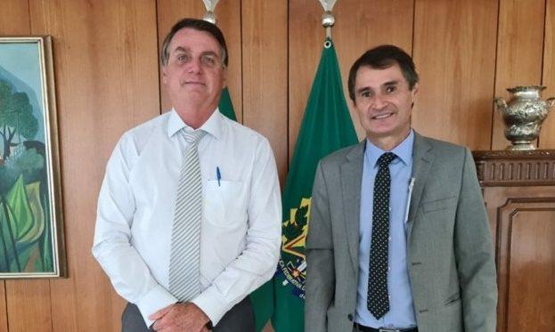 romero e bolsonaro e1628076968836 - Apoio de Bolsonaro à candidatura de Romero ainda demanda acertos