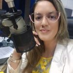 """sabrina barbosa 150x150 - """"NOVO PROJETO""""! Radialista Sabrina Barbosa anuncia saída da Correio FM após 3 anos na emissora, e estreia no jornalismo da TV Arapuan"""