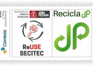 selo correio JP 300x218 1 - Prefeito lança dois selos comemorativos dos Correios em homenagem ao aniversário de João Pessoa