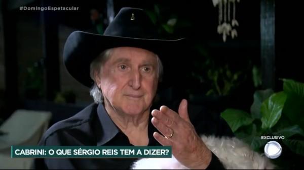 """sergio reis record 600x337 1 - """"LIXO"""": Bolsonaristas se revoltam com a Record após entrevista exclusiva com Sérgio Reis"""