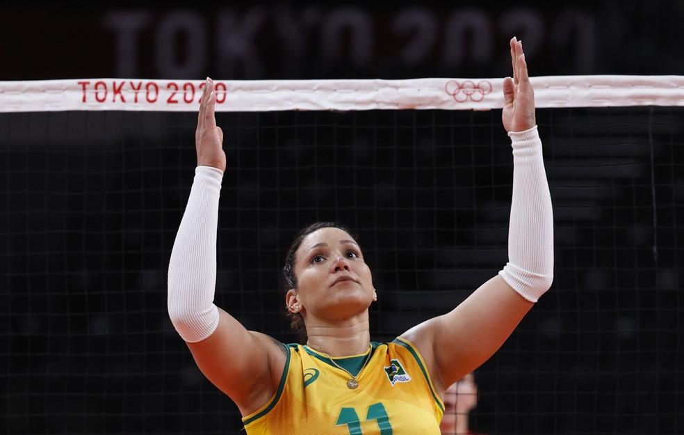 tandara - Brasil pode perder a medalha no vôlei feminino após o caso de doping de Tandara? Entenda a situação